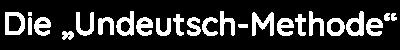 Undeutsch-Methode Logo